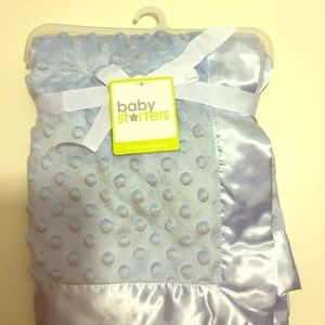 Baby Starters Other - Baby Starter Textured Dot Blanket with satin trim