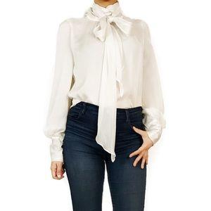 MaxMara Tops - Sportmax by max Mara off white silk blouse