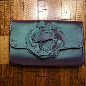 La Regale Handbags - {La Regale} Iridescent Green/Purple Purse
