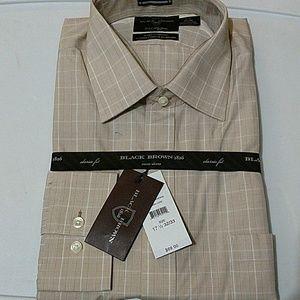Black Brown 1826 Other - Black brown 1826 Long Sleeve Men dress Shirt.
