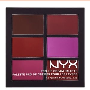 NYX Other - NYX Pro Lip Cream Palette