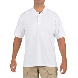 5.11 Tactical Other - 5.11 Tactical Mens Polo Shirt White Short Sleeve M