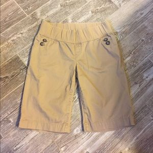 GAP Pants - Gap Maternity Khaki Bermuda Shorts 8