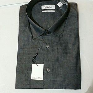 Calvin Klein Other - Calvin Klein Men  Cotton Dress Shirt