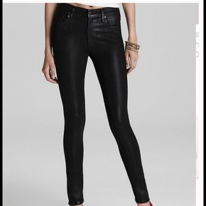 Citizens of Humanity Denim - Citizens Of Humanity Rocket Leatherette Jeans