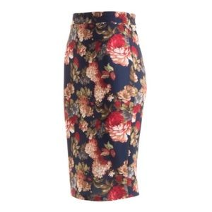 Skirts - Floral Pencil Skirt!