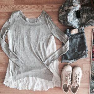 Chan Luu Sweaters - Chan Luu Mixed Tunic