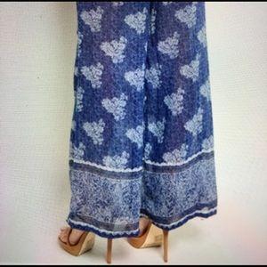 Pants - NEW Boho Palazzo Leisure Floral Pants 1 LEFT SMALL