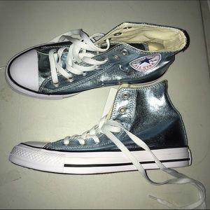 Converse Shoes - Converse Metallic Sneakers New In Box Size 12