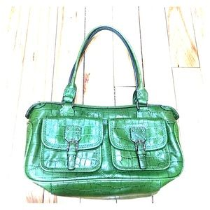 Fossil Handbags - 🗝 Fossil purse green hobo 75082