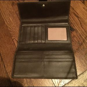Classic - Brown Leather Coach Wallet