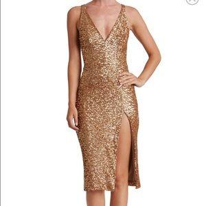 Dress the Population Dresses & Skirts - Sexy Sequin Body Con Midi Dress