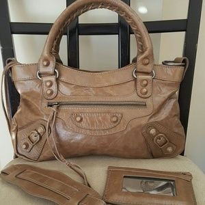 Lush Handbags - New Leather motorcycle biker arena le dix tote bag