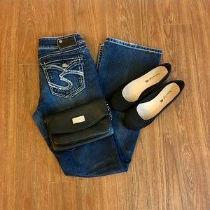 Silver Jeans Denim - Silver Suki Flap jeans. Size 28x32