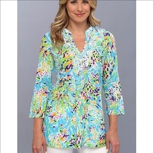 Lilly Pulitzer Tops - 🆕LISTING! Lilly Pulitzer Sarasota Beaded Tunic