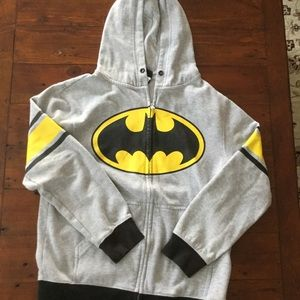 Batman Other - 💐Grey Bat Man Hoodie