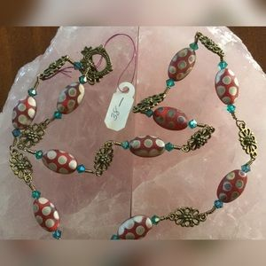 Hand Made Jewelry - Vintage Bead Necklace