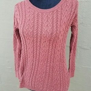 American Eagle Outfitters orange sweater size m