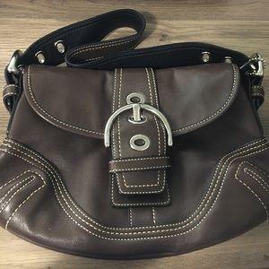 Coach Handbags - Dark brown Coach purse