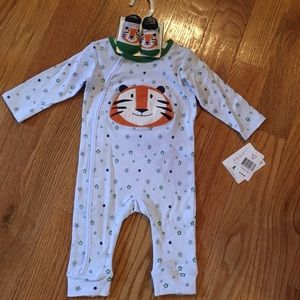 Vitamins Baby Other - SALE Baby Boys' Tiger Coverall & Socks Set