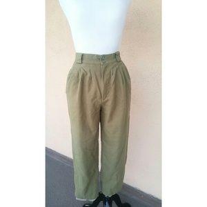 Petite Sophisticate Pants - Vintage Pure Wool Pants