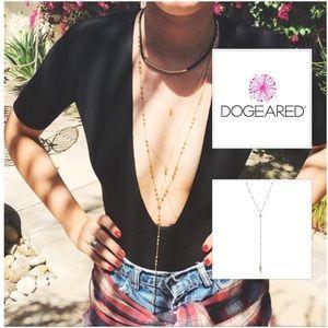 Dogeared Jewelry - Dogeared Beaded Y-Necklace Spear Sterling Silver