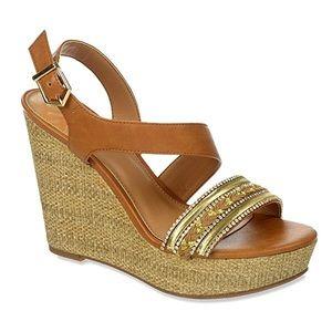 Fergalicious Shoes - Fergalicious Wedged Sandal