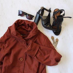 Prana Jackets & Blazers - Cotton Roll Neck Prana Coat