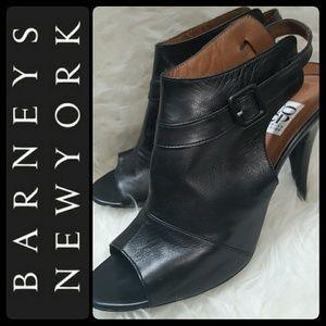 Barneys New York Shoes - Barneys New York Italy Leather Sandal Heels