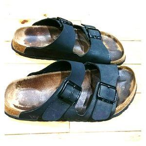 Birkenstock Shoes - Birkis sandals size 10 black