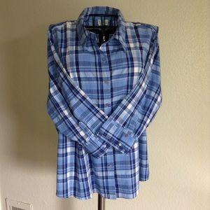 ST. JOHNS BAY button down blouse