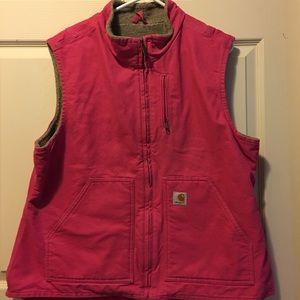 Carhartt Jackets & Blazers - CARHARTT WOMENS VEST SZ XL