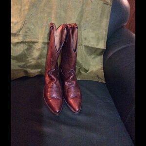 Dan Post Shoes - Dan Post Brown Leather Boots SZ9M