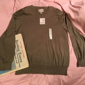 Article 365 Other - NWT Article 365 Cotton Cashmere Blend Sweater L