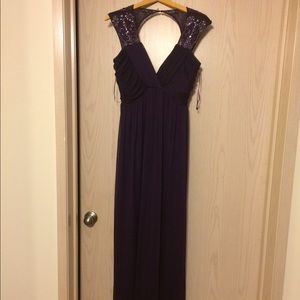 Nightway Dresses & Skirts - Night way purple gown