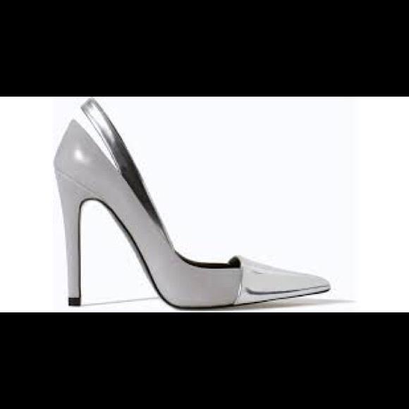 ... Metallic Cap Toe Pumps Heels. M 58ccb5b8d14d7b1289057dcf