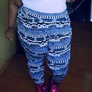 Tribal jogger pants