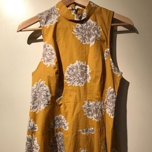 Valette  Tops - Yellow floral tank