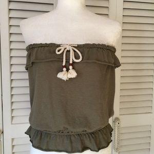 Arizona Jean Company Tops - Arizona Jean Co,  strapless Top Size Medium