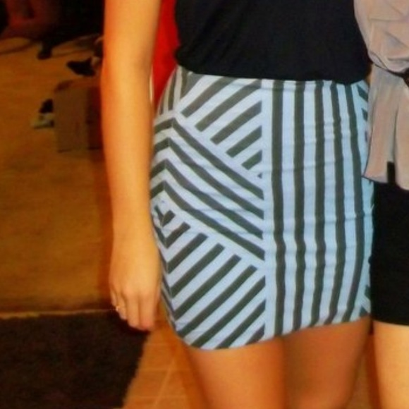 Urban Outfitters Skirts - Striped pencil skirt
