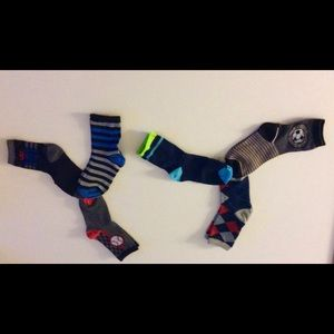 Other - 6 Boy's Socks - Soccer design 4-6 yrs old