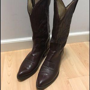Dan Post Other - Dan Post Cowboy Boots - Burgundy Color