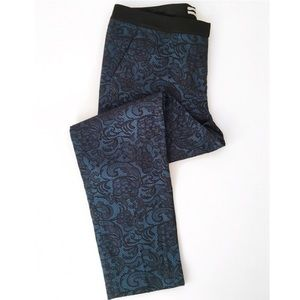 Halogen Pants - Halogen size 6 Teal Lace career pants