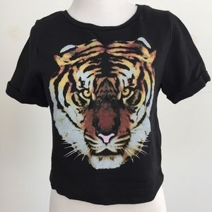 Divided Tops - Fierce Tiger Sweatshirt Tee