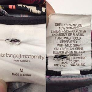 Liz Lange for Target Swim - Liz Lange for Target Maternity Tankini Top