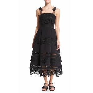self portrait Dresses & Skirts - Black midi dress