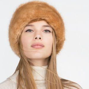 Zara fur hat
