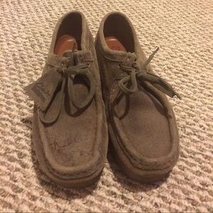 Clarks Shoes - Sand Size 10 Clarks Wallabees
