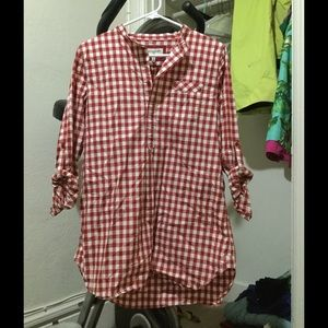 Heritage 1981 Tops - Heritage collection tunic checked red