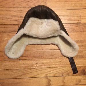 8258d53e437d3 UGG Accessories - NWT UGG men s brown Stoneman Trapper hat ...